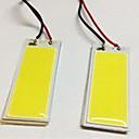 hesapli Araba Sis Lambaları-2pcs BA9S / T10 Araba Ampul 5W COB 490lm LED Işık Lambalar İç Işıklar