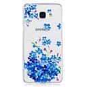 저렴한 아이패드 케이스 / 커버-케이스 제품 Samsung Galaxy A5(2017) / A3(2017) IMD / 투명 / 패턴 뒷면 커버 꽃장식 소프트 TPU 용 A3 (2017) / A5 (2017) / A5(2016)