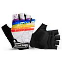Χαμηλού Κόστους Λαμπτήρες LED με νήμα πυράκτωσης-Γάντια ποδηλασίας Γάντια ποδηλάτου για χρήση εκτός δρόμου Αναπνέει Αντιολισθητικό Αντικραδασμική Προστατευτικό Μισά Δάχτυλα Γάντια για Δραστηριότητες/ Αθλήματα Χειμώνας Ποδηλασία Βουνού Λευκό Μαύρο