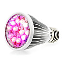 저렴한 다양한 LED 조명-290-330lm E14 GU10 E26 / E27 성장하는 전구 12 LED 비즈 고성능 LED 내추럴 화이트 UV (블랙라이트) 블루 레드 85-265V