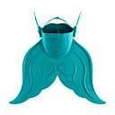 رخيصةأون أقنعة الغوص-زعانف الغوص زعانف للسباحة محمول حورية البحر شفرة قصيرة سباحة غوص تزلج على الماء PE TPR - إلى عن على أطفال أحمر أخضر أزرق