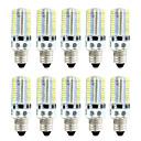 저렴한 갤럭시 J 시리즈 케이스 / 커버-BRELONG® 10pcs 4W 360lm E14 LED 콘 조명 80 LED 비즈 SMD 3014 밝기조절가능 따뜻한 화이트 화이트 220V 110V