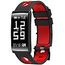 hesapli Tablet Ekran Koruyucuları-Akıllı Bilezik HM68 için iOS / Android Kalp Ritmi Monitörü / Kan Basıncı Ölçümü / Yakılan Kaloriler / Uzun Bekleme / Dokunmatik Ekran Darbe Tracker / Pedometre / Arama Hatırlatıcı / Aktivite