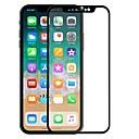 abordables Protections Ecran pour iPhone X-Protecteur d'écran Apple pour iPhone X Verre Trempé 1 pièce Ecran de Protection Intégral Anti-Traces de Doigts Anti-Rayures