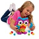 hesapli Yenilikçi LED Işıklar-Legolar Toplar Bunchems Doğumgünü Hediye PP (Polipropilen) Gıda Sınıfı Malzemesi Çocuklar için Genç Erkek Genç Kız Oyuncaklar Hediye 400 pcs