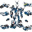 hesapli Pişirme Aletleri ve Kap-Kacaklar-ENLIGHTEN Robot Legolar Askeri bloklar 577 pcs Robot Polis City Yeni Dizayn Kendin-Yap Çağdaş Klasik Klasik & Zamansız Uçak Dövüşçü Genç Erkek Genç Kız Oyuncaklar Hediye