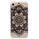 abordables Coques d'iPhone-Coque Pour Apple iPhone 7 / iPhone 7 Plus IMD / Motif Coque Mandala Flexible TPU pour iPhone 7 Plus / iPhone 7 / iPhone 6s Plus