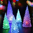 preiswerte Notizbücher & selbstklebende Notizzettel-led batterieleistung lampe 7 farbwechsel nachtlicht schreibtisch tischplatte weihnachtsbaum dekoration festliche party