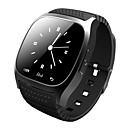 baratos Localizadores & Rastreadores Smart-Smartwatch m26 bluetooth relógio inteligente com led alitmeter musicplayer pedômetro ios telefone inteligente Android