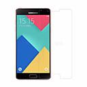 Χαμηλού Κόστους Προστατευτικά οθόνης για Samsung-Προστατευτικό οθόνης Samsung Galaxy για A3(2016) Σκληρυμένο Γυαλί 1 τμχ Προστατευτικό μπροστινής οθόνης Κυρτό άκρο 2,5D Επίπεδο