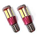 ieftine Becuri De Mașină LED-2pcs Becuri 10W SMD 3014 900lm 57 Lumini exterioare For Παγκόσμιο Toate Modele Toți Anii