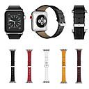 Недорогие Кейсы для iPhone-Ремешок для часов для Apple Watch Series 4/3/2/1 Apple Спортивный ремешок Натуральная кожа Повязка на запястье