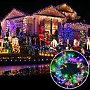 hesapli Sensörler-brelong 6.5w 100 led perde ışık / / düğün / parti arka plan dekoratif ışıklar / aile bahçesi / (10m / eu) 1adet