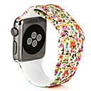 preiswerte Bekleidung & Accessoires für Hunde-Uhrenarmband für Apple Watch Series 4/3/2/1 Apple Sport Band Silikon Handschlaufe