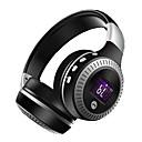 hesapli Kulaklık Setleri ve Kulaklıklar-B19 Saç Bandı Kablosuz Kulaklıklar Dinamik Plastik Spor ve Fitness Kulaklık Ses Kontrollü kulaklık