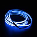 cheap LED Car Bulbs-BRELONG® 2m 0 LEDs EL White / Red / Blue Waterproof / Self-adhesive 1pc