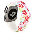 preiswerte Damenuhren-Uhrenarmband für Apple Watch Series 4/3/2/1 Apple Sport Band Silikon Handschlaufe