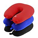hesapli Güç Kaynakları-1set pil titreşimli elektrikli yastık seyahat boyun omuz masaj renk rahatla