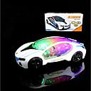 hesapli Işıklı Oyuncaklar-LED Aydınlatma Yarış Arabası Klasik Tema / Tatil / Arabalar Aydınlatma / Motorlu / Yeni Dizayn Genç Erkek / Genç Kız Çocuklar için Hediye