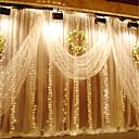 hesapli LED Gömme Işıklar-KWB 3M Dizili Işıklar 300 LED'ler Sıcak Beyaz / Beyaz / Mavi Su Geçirmez 220-240 V 1set / IP65