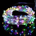 hesapli LED Şerit Işıklar-HKV 2m Dizili Işıklar 20 LED'ler Sıcak Beyaz / Serin Beyaz / Kırmızı Su Geçirmez <5 V 1pc / IP65