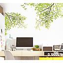 hesapli Dekorasyon Etiketleri-Dekoratif Duvar Çıkartmaları - Uçak Duvar Çıkartmaları Çiçekler / Botanik Oturma Odası / Yatakodası