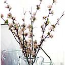 hesapli Köpek Giyim ve Aksesuarları-Yapay Çiçekler 1 şube Modern Stil Sakura Masaüstü Çiçeği
