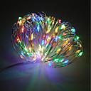 preiswerte LED Lichterketten-ZDM® 10m Leuchtgirlanden 100 LEDs SMD 0603 10M Lichterkette Warmes Weiß / Kühles Weiß / Rot Dekorativ <5 V 1pc / IP68