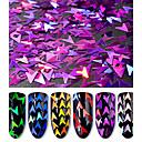 hesapli Makyaj ve Tırnak Bakımı-Parlak Pudra Art Deco / Retro / Şık & Modern / Moda Tırnak Tasarımı Tasarımı / Çivi Doldurma Aracı Günlük