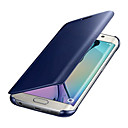 hesapli Bilezikler-Pouzdro Uyumluluk Samsung Galaxy S8 Plus / S8 Kaplama / Ayna Tam Kaplama Kılıf Solid Sert PC için S8 Plus / S8 / S7 edge
