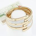 זול צמיד-בגדי ריקוד נשים מתרסק צמידים צמידי חפתים הצהרה נשים וינטאג' אופנתי צמידים תכשיטים זהב עבור מתנה ליציאה