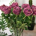 رخيصةأون ساعات النساء-زهور اصطناعية 1 فرع عتيق الطراز الأوروبي الورود أزهار الطاولة