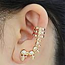 cheap Earrings-Men's / Women's Stud Earrings / Ear Cuff - Skull European, Ethnic, Fashion Gold / Silver For Evening Party / Carnival