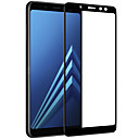 hesapli Akıllı Saatler-Ekran Koruyucu Samsung Galaxy için A8+ 2018 Temperli Cam 1 parça Tam Kaplama Ekran Koruyucular 3D Kavisli Kenar Parlama Karşıtı Parmak