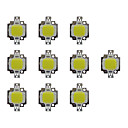 cheap LEDs-10pcs 800lm Bulb Accessory LED Chip Brass 10W