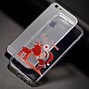 baratos Capinhas para Nokia-Capinha Para Apple iPhone X / iPhone 8 / iPhone 8 Plus Estampada Capa traseira Natal Macia TPU para iPhone X / iPhone 8 Plus / iPhone 8