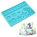 저렴한 베이킹 도구&가젯-Bakeware 도구 실리카 젤 베이킹 도구 / 생일 / 새해 케이크 / 초콜릿에 대한 / 케이크에 대한 케이크 주형 1 개