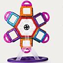 رخيصةأون البناء و المكعبات-مكعبات مغناطيسية البلاط المغناطيسي أحجار البناء 98 pcs معمارية التحويلية للصبيان للفتيات ألعاب هدية