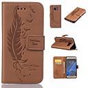 olcso Galaxy S tokok-Case Kompatibilitás Samsung Galaxy S7 edge / S7 Kártyatartó / Pénztárca / Állvánnyal Tollak Kemény mert