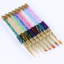 hesapli Makyaj ve Tırnak Bakımı-1pc Tırnak Fırçaları Yenilikçi tırnak sanatı Manikür pedikür Klasik / sevimli Stil Günlük