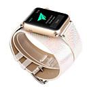 저렴한 아이패드 케이스 / 커버-시계 밴드 용 Apple Watch Series 3 / 2 / 1 Apple 모던 버클 천연 가죽 손목 스트랩
