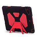 tanie Etui, torby i pokrowce do MacBooka-Kılıf Na Apple Etui na karty Odporne na wstrząsy Woda / Dirt / Shock Proof Z podpórką Pełne etui Solid Color Twarde Silikonowy na