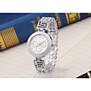 preiswerte Damenuhren-Damen Sportuhr Quartz Armbanduhren für den Alltag Cool Legierung Band Analog Luxus Freizeit Modisch Silber / Gold / Rotgold - Gold Silber Rotgold