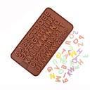 hesapli Fırın Araçları ve Gereçleri-Bakeware araçları Silika Jel Pişirme Aracı Doğum Dünü Sevgililer Günü Kek Çikolata Pasta Pasta Kalıpları 1pc