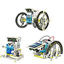 ieftine Gadget-uri Solare-14 in 1 GE615 Robot Jucării Încărcate Solar Vehicule Mașină Transformabil Reparații ABS Pentru copii Băieți Fete Jucarii Cadou