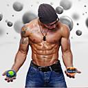 """hesapli PS4 Aksesuarları-güç topu / Spinner Gyroscopic / takviye edici şey İle 3"""" (7.5 cm) Çap Silgi LED, Temel Gereçler Stres Giderici, El Terapisi, Bilek Eğitmeni İçin Fitness / Jimnastik / Egzersiz yapmak bilek, eller"""