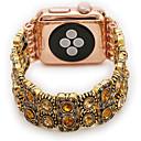 billige Apple Watch urremme-Urrem for Apple Watch Series 4/3/2/1 Apple Smykkedesign Metal Håndledsrem