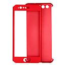 abordables Coques d'iPhone-Coque Pour Huawei P9 P10 Antichoc Coque Intégrale Couleur unie Dur PC pour P10 Huawei P9