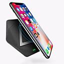 hesapli Şarj Aletleri-USB Şarj Aleti USB Kablosuz Şarj Aleti Desteklenmiyor 1 A / 1.5 A DC 9V / DC 5V iPhone X / iPhone 8 Plus / iPhone 8