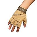 ieftine Mănuși de Motociclist-în aer liber negru șoim tactici mănuși jumătate deget mănuși anti-alunecare uzură